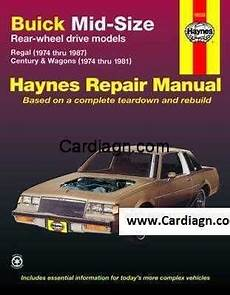 free online car repair manuals download 1990 buick regal electronic valve timing buick mid size haynes repair manual free download pdf repair manuals buick manual