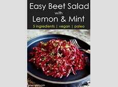 winter salad with lemon mint dressing_image