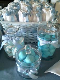 baptism table decoration for guests boy