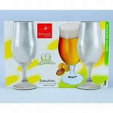 bicchieri da set 3 bicchiere calici da birreria bormioli