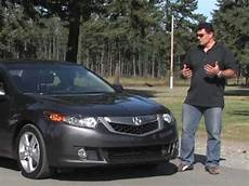 2009 acura tsx review youtube