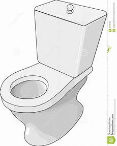 Cuvette Des Toilettes Illustration De Vecteur Image