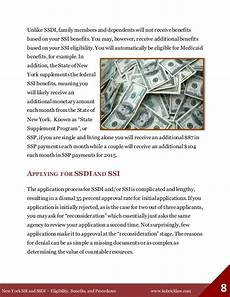 new york ssi and ssdi eligibility benefits and procedures