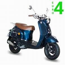 Gmx 460 Retro Scooter 25 Km H Blau 4 Takt 50ccm Bestes