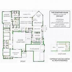 house plans with courtyard in middle luxury modern courtyard house plan house design dads