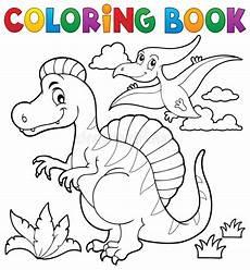 dinosaur dino black and white vector