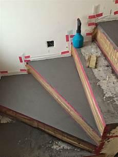 holz für feuchträume beton cire oberfl 228 chen in beton look betontreppe