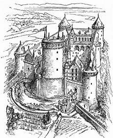 Malvorlagen Burgen Ausmalbilder Ausmalbild Eine Grosse Burg Zum Ausmalen Jpeg Coloring 7