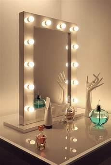 Schminkspiegel Mit Licht - miroir loge maquillage blanc tr 232 s brillant k113