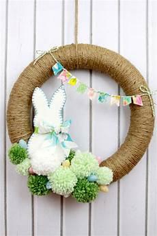Osterkranz Basteln Anleitung - diy wreaths to decorate your front door for easter