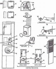 I Coleman Evcon Furnace Model Dgat0708df That Has A