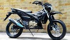 Modifikasi Satria Fu Fi by Modifikasi All New Satria Fu 150 Fi Dari Konsep Trail