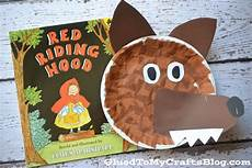 paper plate wolf kid craft crafts crafts and wolves