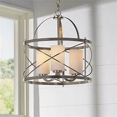 foyer lighting farrier 3 light foyer pendant reviews allmodern