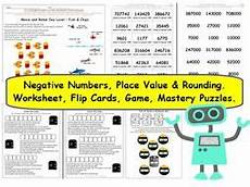 place value worksheets y6 5348 y6 place value rounding and negative numbers differentiated worksheets and activities by
