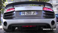 audi r8 gt v10 lovely exhaust sound