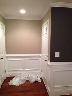 hallway color quot greige quot by sherwin williams i absolutely can not get enough of this