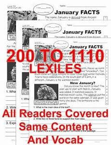 winter solstice reading worksheets 20081 january winter solstice resolutions mlk day more reading level passages