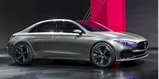 Mercedes Revela Classe A Sedan Concept Em Xangai