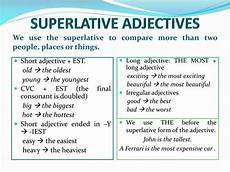 ppt comparative and superlative adjectives powerpoint presentation id 528507