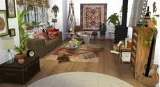 tapis de cheminée deco hippie chic salon