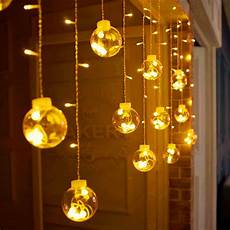 Decorations Lights Windows by 3m 120 Led Lights Indoor Curtain String