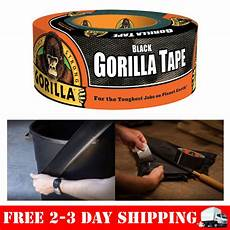 Photograpic Strong Duct Black Waterproof Thick by Gorilla Black Duct Heavy Duty Adhesive Stronger