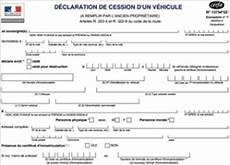 Cession Voiture Carte Grise Tout Sur Le Certificat De Cession Pour Une Carte Grise