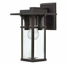 hinkley lighting 2320oz rubbed bronze 11 75 quot height 1 light lantern outdoor wall sconce from