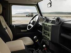 2015 Land Rover Defender Heritage Edition Interior