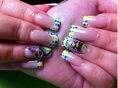 mardi gras nail art nail designs nails