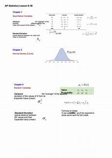 ap statistics lesson sheet printable pdf download
