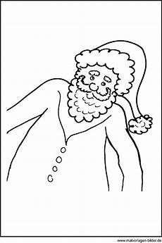 malvorlagen und ausmalbilder vom weihnachtsmann window