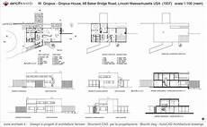 gropius house drawings house drawing