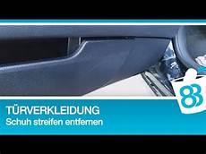 kunststoff im auto reinigen t 252 rverkleidung schuh streifen entfernen kunststoff
