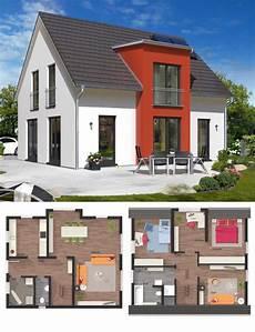 massivhaus modern mit satteldach architektur querhaus