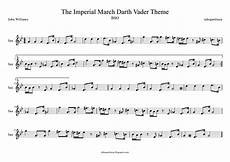 tubescore easy sheet music for the imperial march for