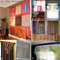 home decor curtains inspiration and realisation diy fashion scarf home
