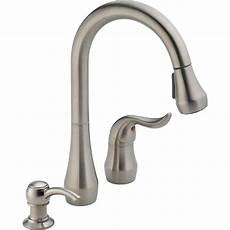peerless apex single handle pull sprayer kitchen