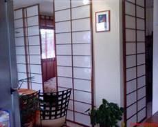 panneaux japonais coulissants 4 panneaux japonais en bois et coulissants pas cher