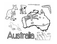 australia animals coloring pages 16900 australia preschool printables preschool
