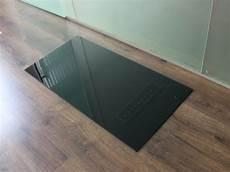 Saisonplatte Rechteck 120x55cm Glas Schwarz Kamin