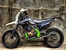 Variasi Motor Klx by Modifikasi Klx 150 Supermoto Mortech Panduan