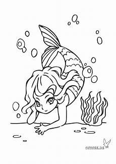 Malvorlagen Urlaub Strand Und Partner Kleine Meerjungfrau Als Ausmalbild F 252 R Kleine Ostsee Fans