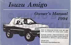 electric and cars manual 1994 isuzu amigo electronic valve timing 1994 1995 isuzu pickup and amigo electrical troubleshooting manual