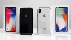 apple iphone x farbvergleich spacegrau vs silber