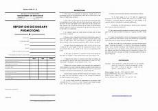 dep ed form 18a secondary by jonathanparanada