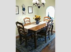 French Country Dining Room Table & 4 Chairs   Craigslist