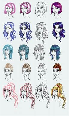 hair style list hairstyles guide by basedesire on deviantart