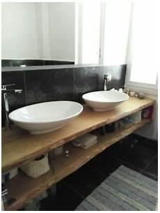 mensole lavabo mensola lavabo in legno massello design per bagno su